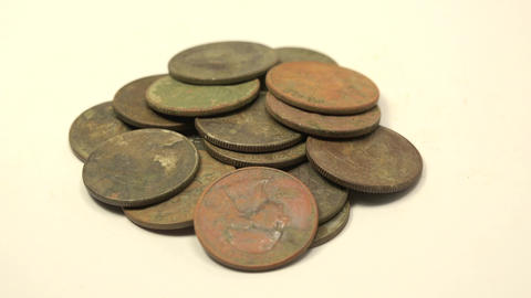 Treasures From Metal Detecting (25 cent USA Quarters) Footage