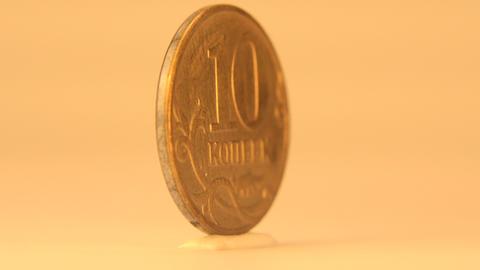 Russian Ten Rubles Footage