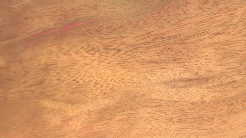(Perfect Loop) Blistered Sapele Wood Piece stock footage