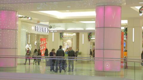 Christmas time at Metrotown Metropolis Burnaby - o Footage