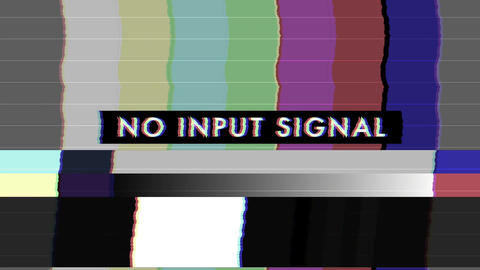 Bad TV Screen - EN - Loop Animation