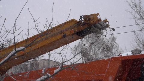 Snowplows Footage