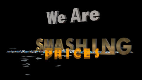 Smashing the Competition & Price Animation