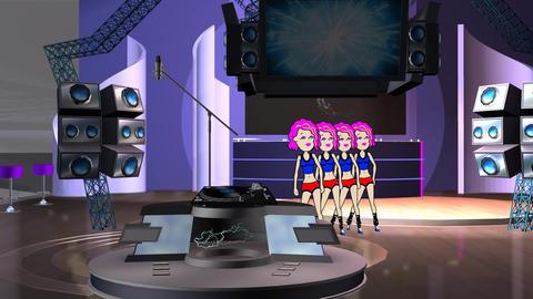 Studio Dancers Animation: Looping Animation