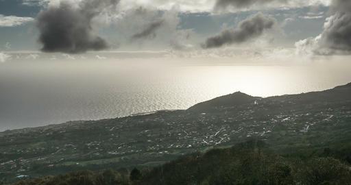 4k Time Lapse, La Palma, Brena Alta Footage