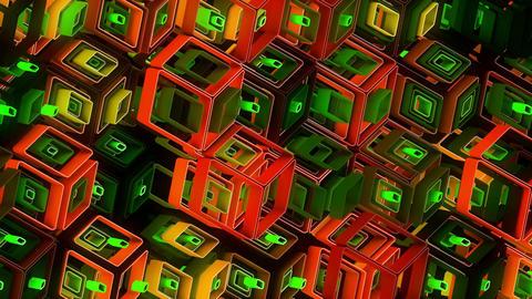 Neon Pattern 005 B Alternate Random TC Animation