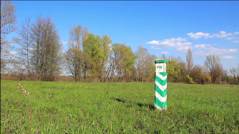 Boundary post Footage