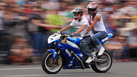 Bike show Footage
