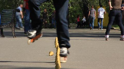 Roller-skate Footage