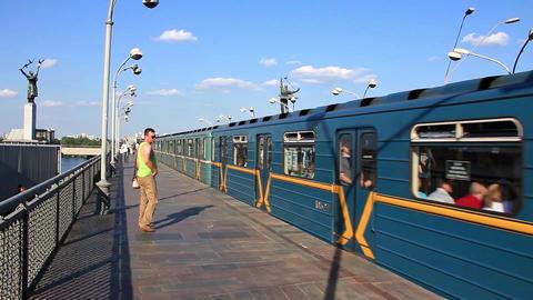 Train arrival Footage