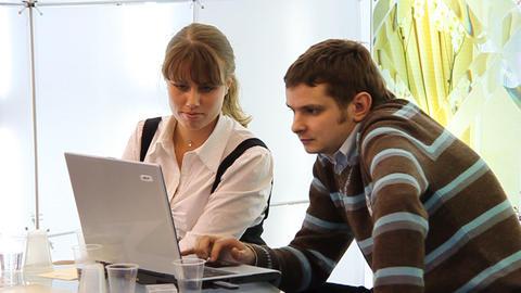 Development Of Business Plan stock footage