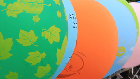 Balloons Footage