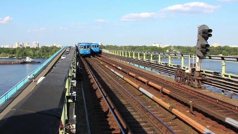 Train arrival Live Action