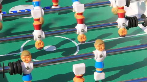 Table football Footage