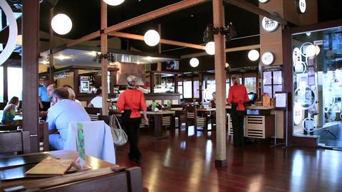 Japanese restaurant Footage