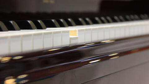 Play The Piano stock footage