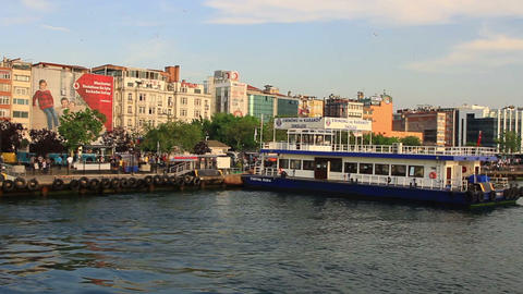 Kadikoy is a district of Istanbul on its Asian sid Footage