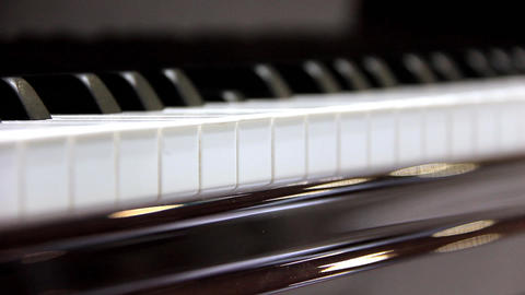 Invisible Pianist stock footage