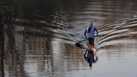 Canoeist Footage