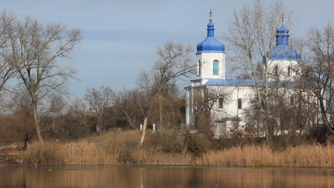 Intercession Cathedral erected in 1622-1629 Footage