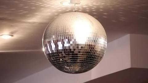 Glitterball stock footage