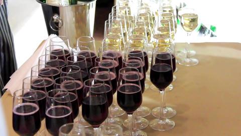 Wine sampling Live Action