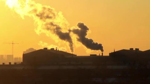 Air pollution Footage