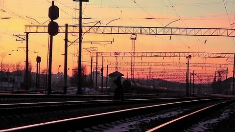 Railway stock footage
