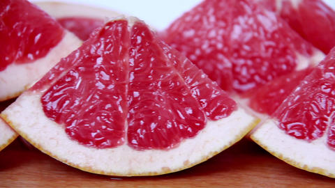 Grapefruit stock footage