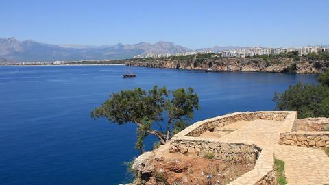 Seacoast, Antalya, Turkey Footage