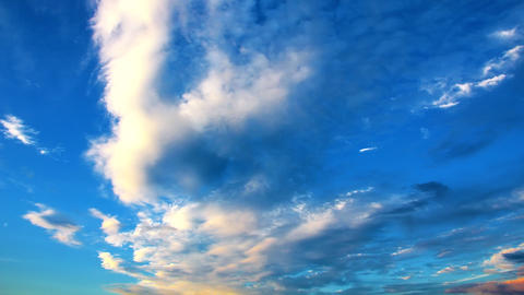 Beautiful clouds Footage