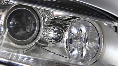 Stylish headlight Footage