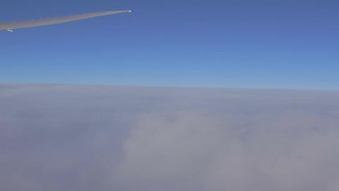 High Above The Clouds stock footage