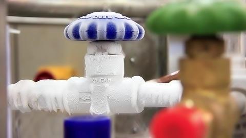 Refrigerating device Footage