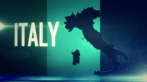 TV opener, Country: Italy Animation