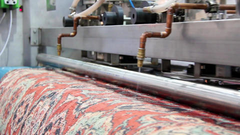 Automatic washing and cleaning of carpets Live Action