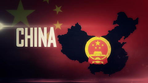 TV opener, Country: China (with national emblem) Animation