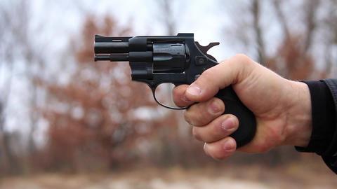 Revolver shooting Footage