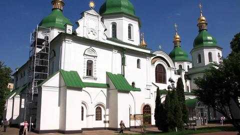 Saint Sophia cathedral in Kiev, Ukraine Footage