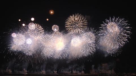 2160p (12bit RGB4:4:4) Fireworks Japan Footage