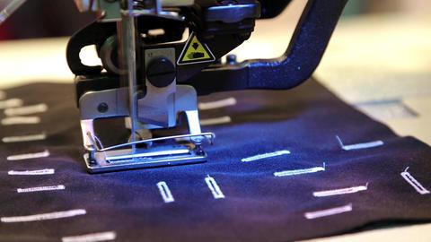 Stitching machine Footage