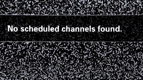No scheduled channels found Live Action