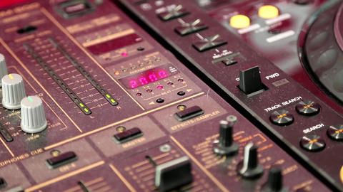 Mixing console Live Action