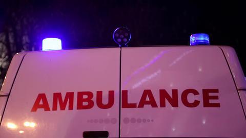 Ambulance car Footage