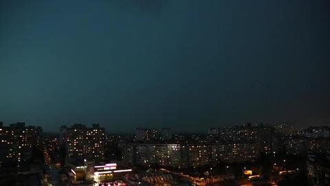 Lightning strikes timelapse Footage