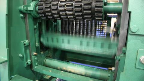 Sawmill equipment Footage