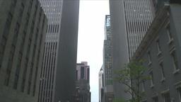 Manhattan Skyline 2 Stock Video Footage