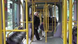 Luas Tram Stock Video Footage
