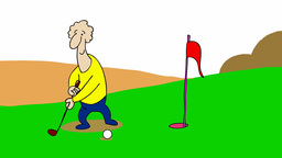 GOLFER Animation