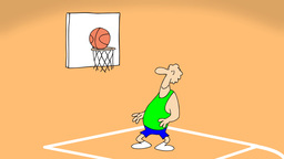 BASKETBALL Stock Video Footage